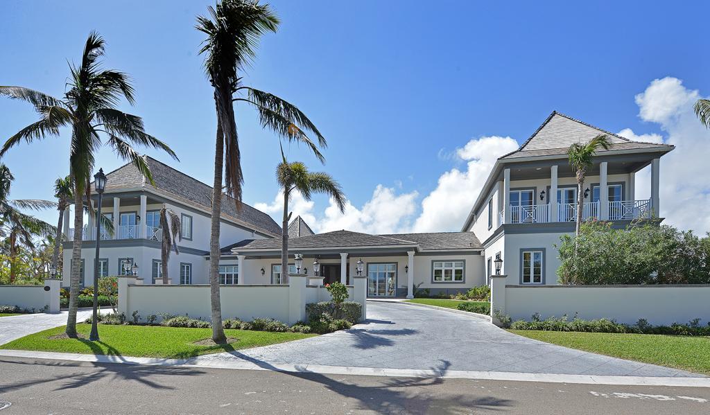 Luxury real estate Baker House at Ocean Club Estates