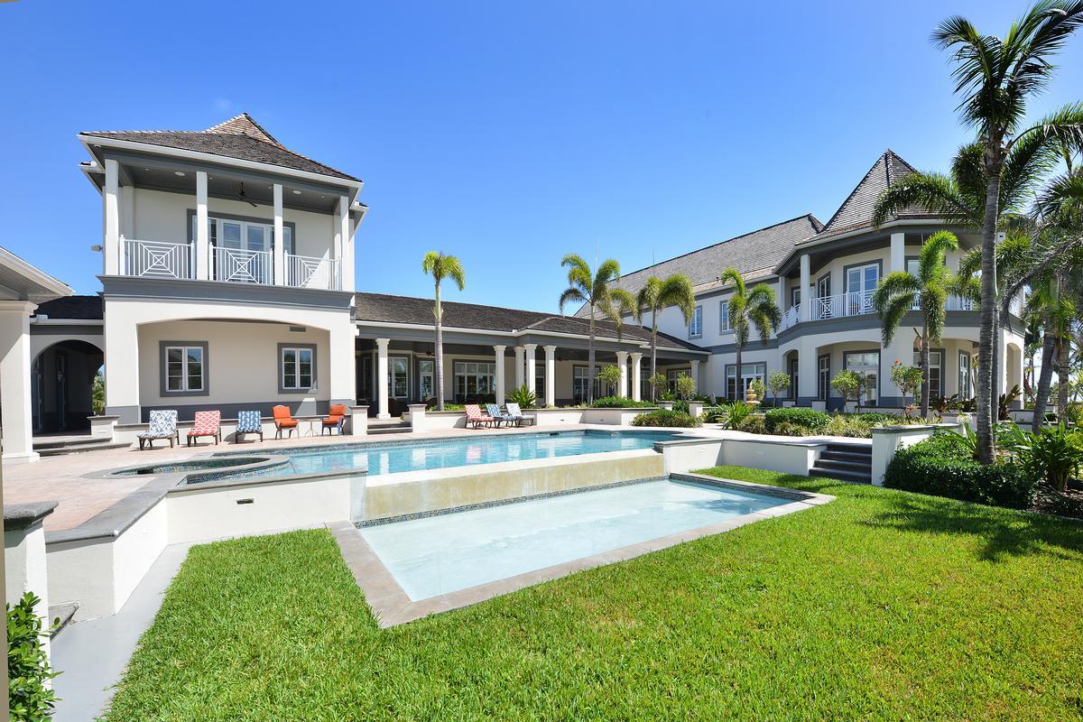 Luxury properties Baker House at Ocean Club Estates