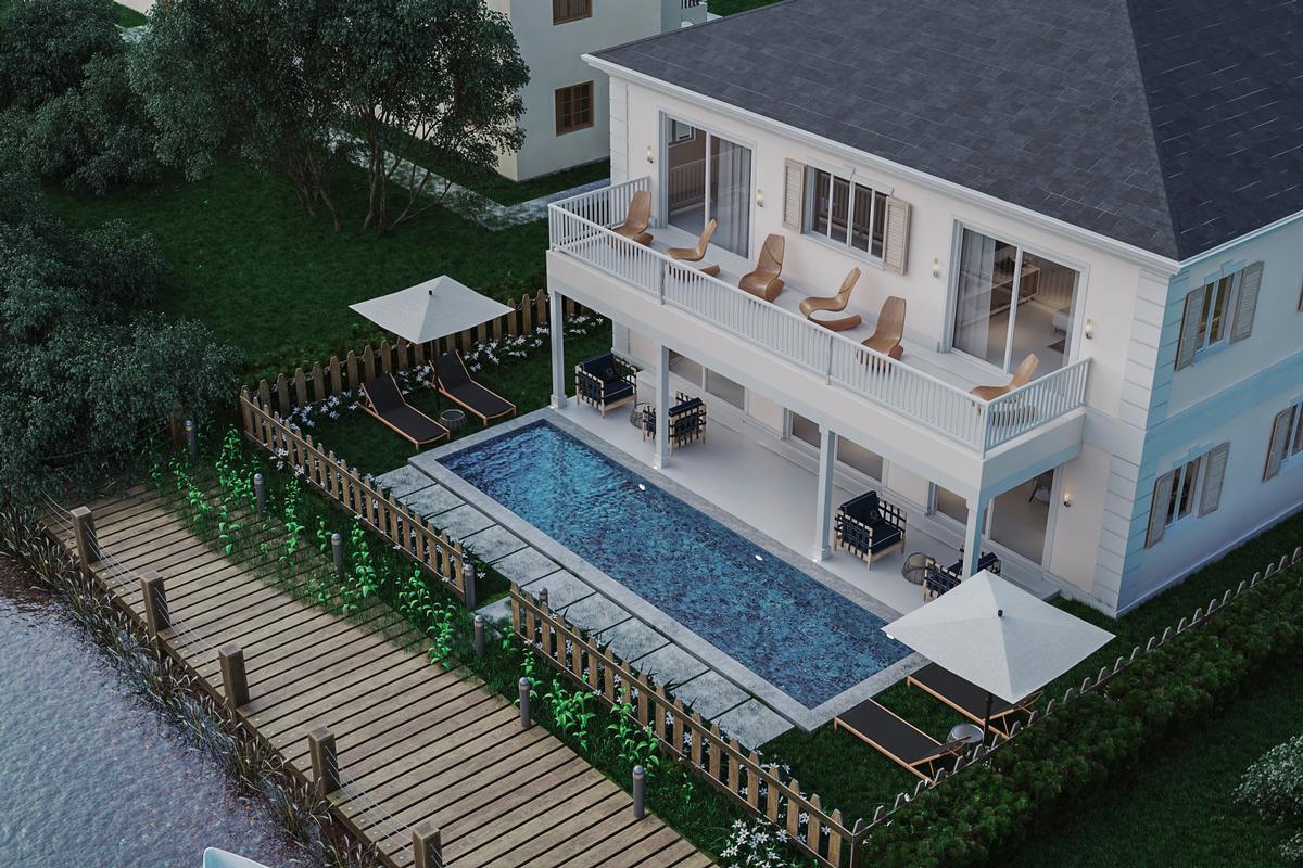 Sandyport executive home luxury homes