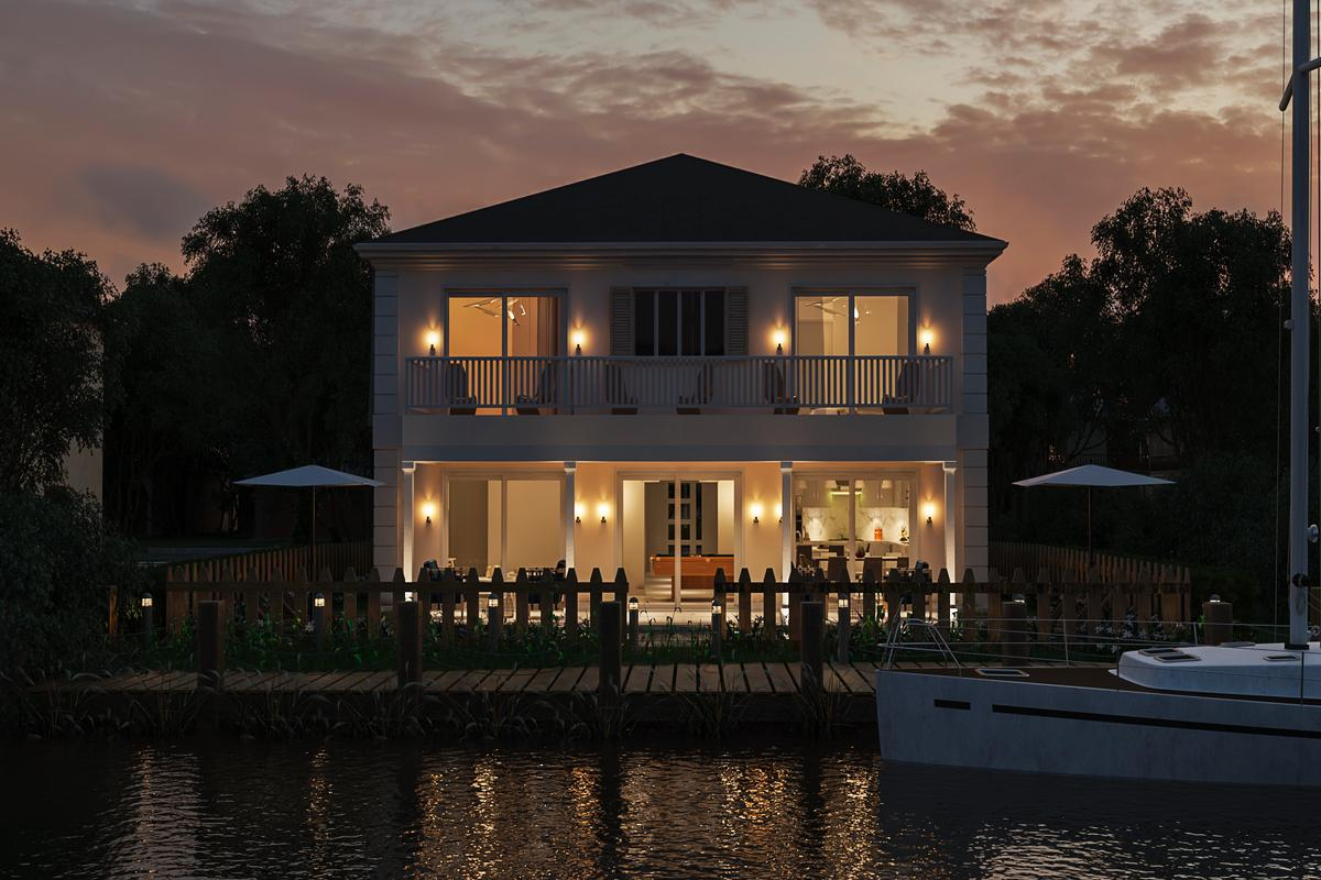 Luxury real estate Sandyport executive home