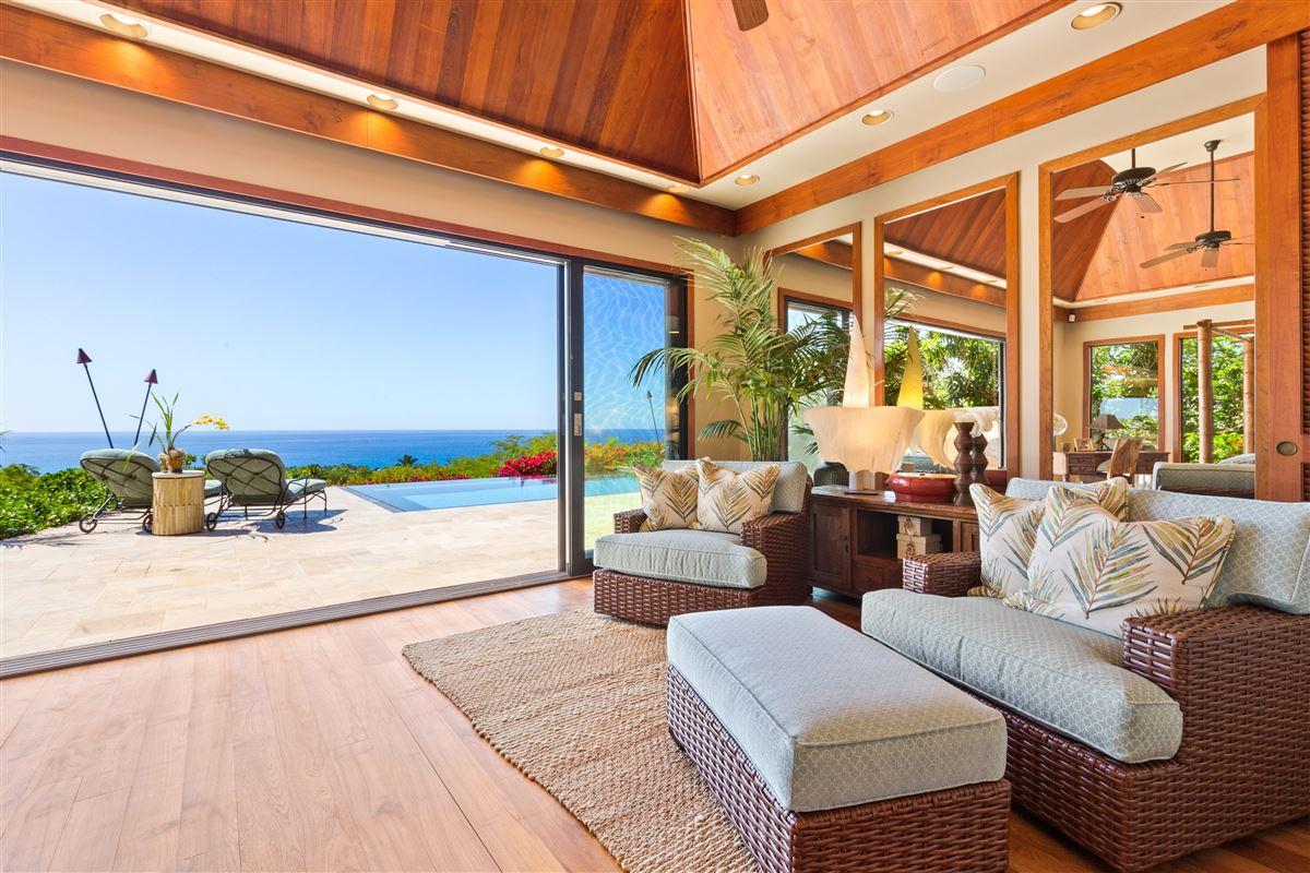 Totally renovated custom home in the Mauna Kea Resort luxury real estate