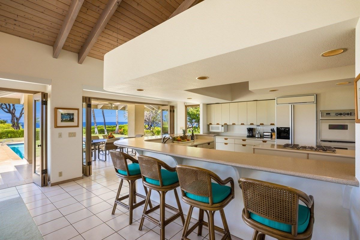 unique and private setting in the Mauna Kea Resort luxury homes