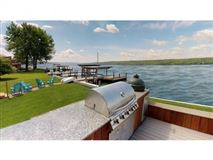 New Build with 75' of Owned Cayuga Lake Frontage, Panoramic Lake Views & Access luxury homes