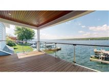 New Build with 75' of Owned Cayuga Lake Frontage, Panoramic Lake Views & Access luxury properties