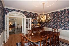 Luxury real estate exceptional classic colonial in the hunt club neighborhood