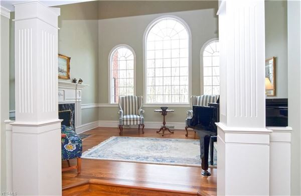 Luxury homes in exceptional classic colonial in the hunt club neighborhood
