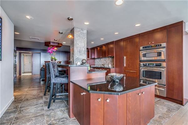 bright and spacious unit offers spectacular views luxury real estate