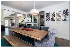 Luxury homes in Sleek and unique Euro Modern custom design