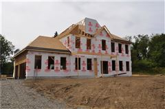 custom new home in Field Brook Farms luxury homes