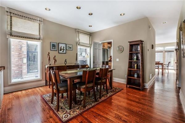 Picture Perfect Townhome in Shadyside  luxury real estate