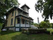 stately home offers unobstructed lake erie views luxury homes