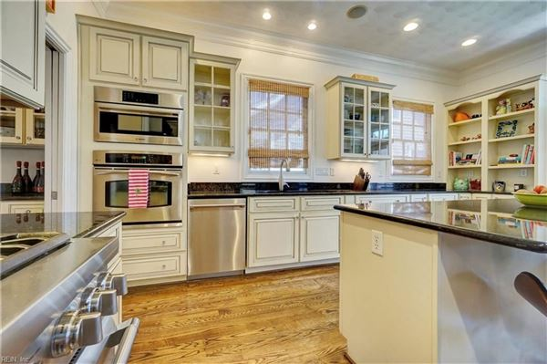 Impressive Colonial Revival home in East Beach luxury real estate