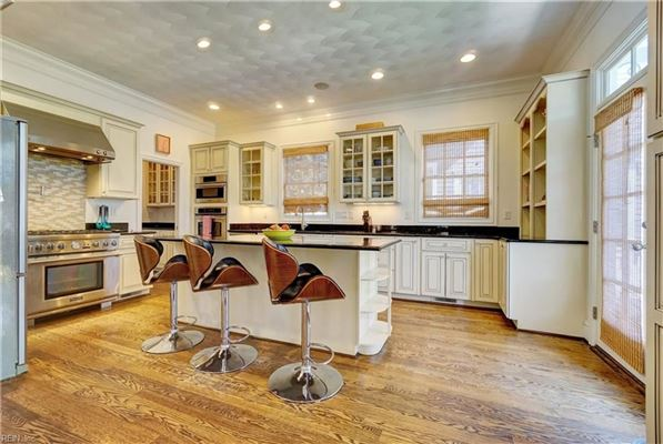Impressive Colonial Revival home in East Beach luxury properties