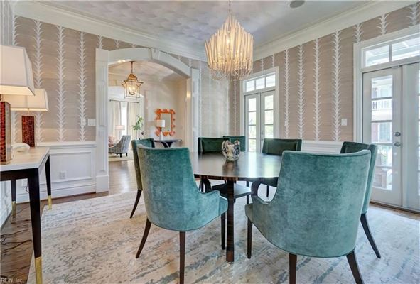 Luxury homes in Impressive Colonial Revival home in East Beach