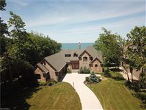 magnificent custom-built lake front home  luxury real estate