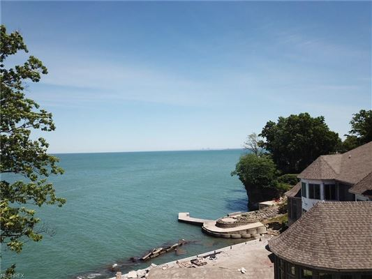 Luxury properties magnificent custom-built lake front home