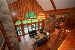 fabulous log home on 20 acres luxury real estate