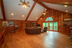 Luxury properties fabulous log home on 20 acres