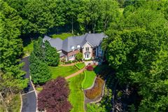 Luxury real estate Palatial all brick estate on a private and peaceful two acre cul-de-sac setting