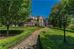 Luxury properties Palatial all brick estate on a private and peaceful two acre cul-de-sac setting