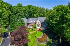 Palatial all brick estate on a private and peaceful two acre cul-de-sac setting luxury real estate