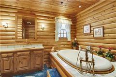 luxury log home on 69 exceptional wooded acres luxury homes