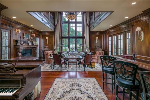 Luxury real estate a refined home on 133 acres