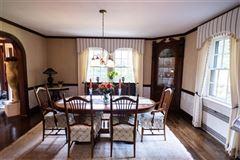 Luxury homes elegant historic 1930s Cedar Shingle home