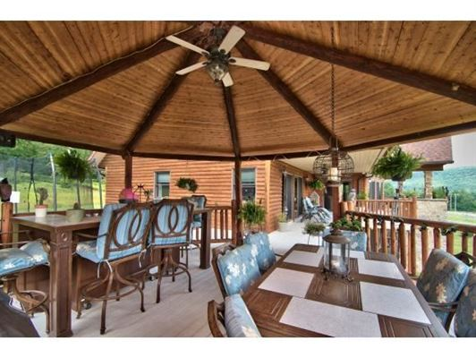 Luxury real estate luxurious cedar home on over 57 acres