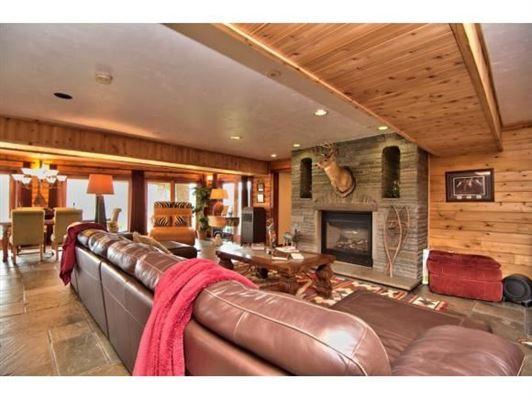 Luxury properties luxurious cedar home on over 57 acres