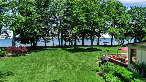 Luxury real estate this exceptional lakefront residence has captivating views of Lake Erie