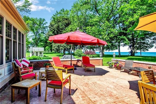 Mansions this exceptional lakefront residence has captivating views of Lake Erie