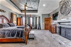 Luxury homes in exceptionally detailed custom built home