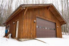 custom built Montana Log home on over 50 acres luxury homes