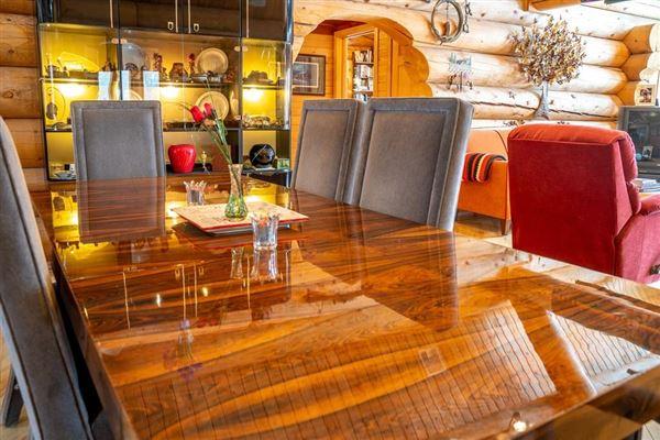 custom built Montana Log home on over 50 acres luxury properties