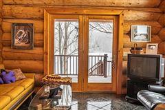 Luxury properties custom built Montana Log home on over 50 acres