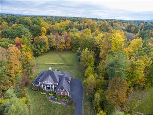 an Exquisite custom home on 5 acres luxury real estate