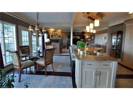 Luxury properties dramatic, contemporary home in avon lake