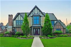 Luxury real estate timeless custom-built English Tudor