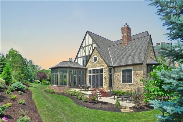 Luxury homes timeless custom-built English Tudor