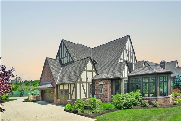 timeless custom-built English Tudor luxury homes