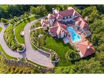 Luxury properties large architecturally impressive home