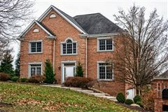 Stately brick provincial in Pine Timbers mansions