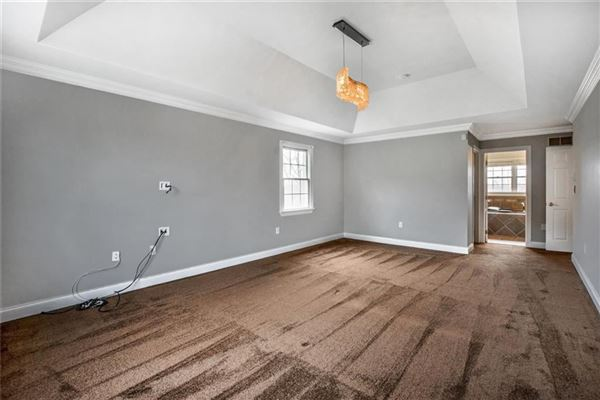 Luxury properties Stately brick provincial in Pine Timbers