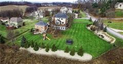 Stately brick provincial in Pine Timbers luxury real estate