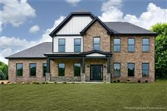 custom new home in Field Brook Farms mansions