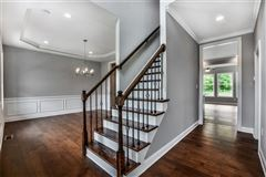 Luxury real estate custom new home in Field Brook Farms