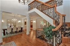 custom built transitional manor home luxury real estate