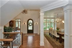 Luxury properties custom built transitional manor home
