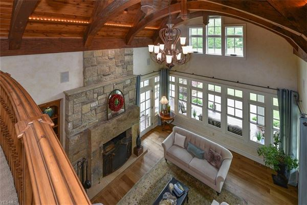 Luxury homes  impeccable craftsman-style estate